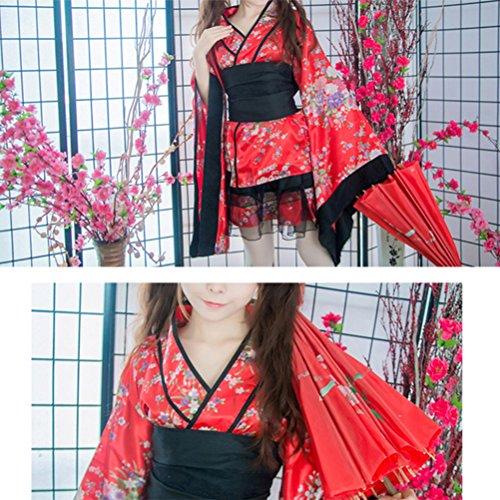 FENICAL Frauen Kirschblüten Anime Cosplay Lolita Kleid ...