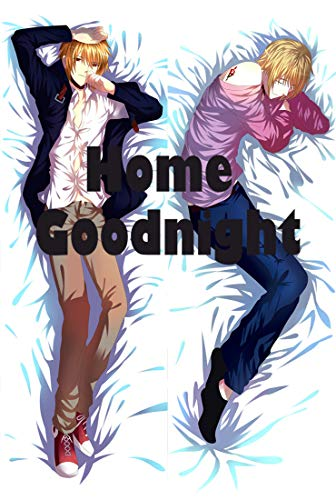 Home Goodnight K Project Male 160 x 50cm(62.9in x 19.6in) Peach Skin Kissenbezug