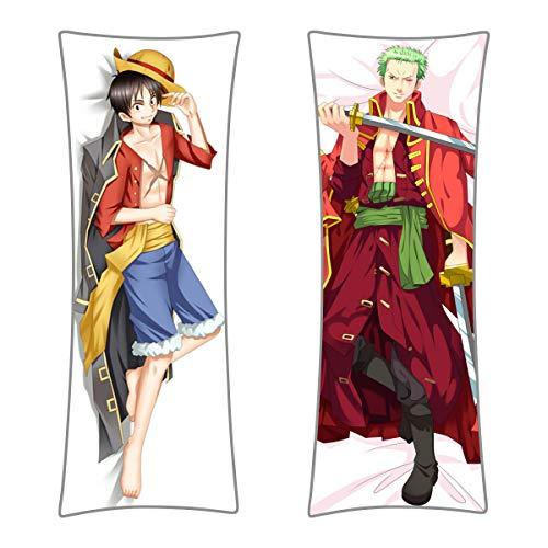Ruffy + Lorenor Zorro Dakimakura - One Piece - 150 x 50 cm