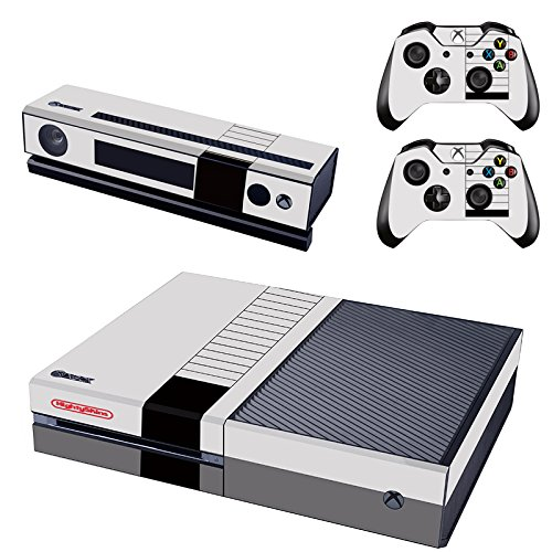 Xbox one X Konsole + Controller Skin - NES Style