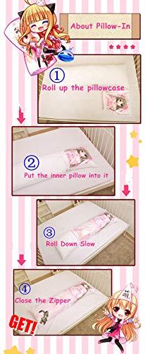 Home Goodnight Rem - Re Zero (150cm x 50cm) Peach Skin Kissenbezug